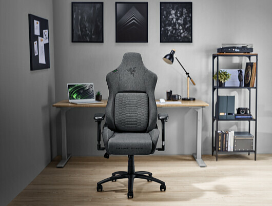 Razer: Escor gaming chair with fabric material