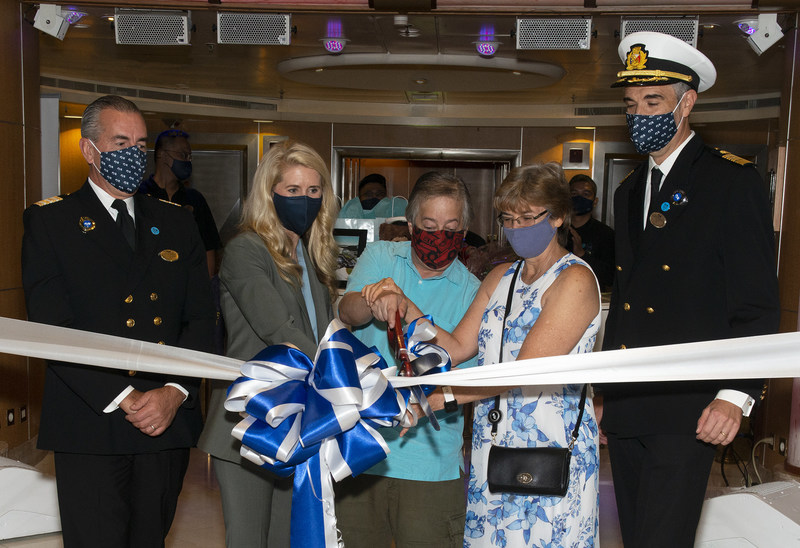 Princess Cruises ship paused due to Covid-19 at Port of Los Angeles
