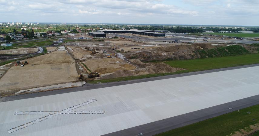 New photos from the airport construction site