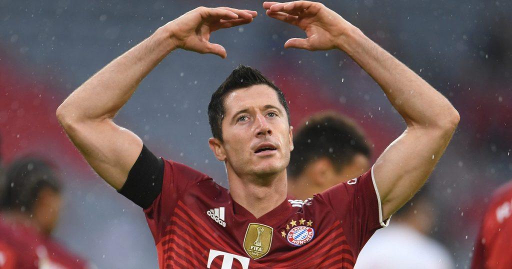 Bayern Munich-Dynamo Kiev.  Will Robert Lewandowski beat the league?