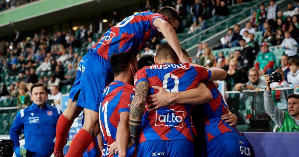 Legia Warsaw - Rako Cestochova.  Five goals and one win for Rako.  Best League