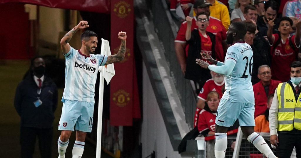 Manchester United - West Ham.  Conclusion and relationship.  English League Cup