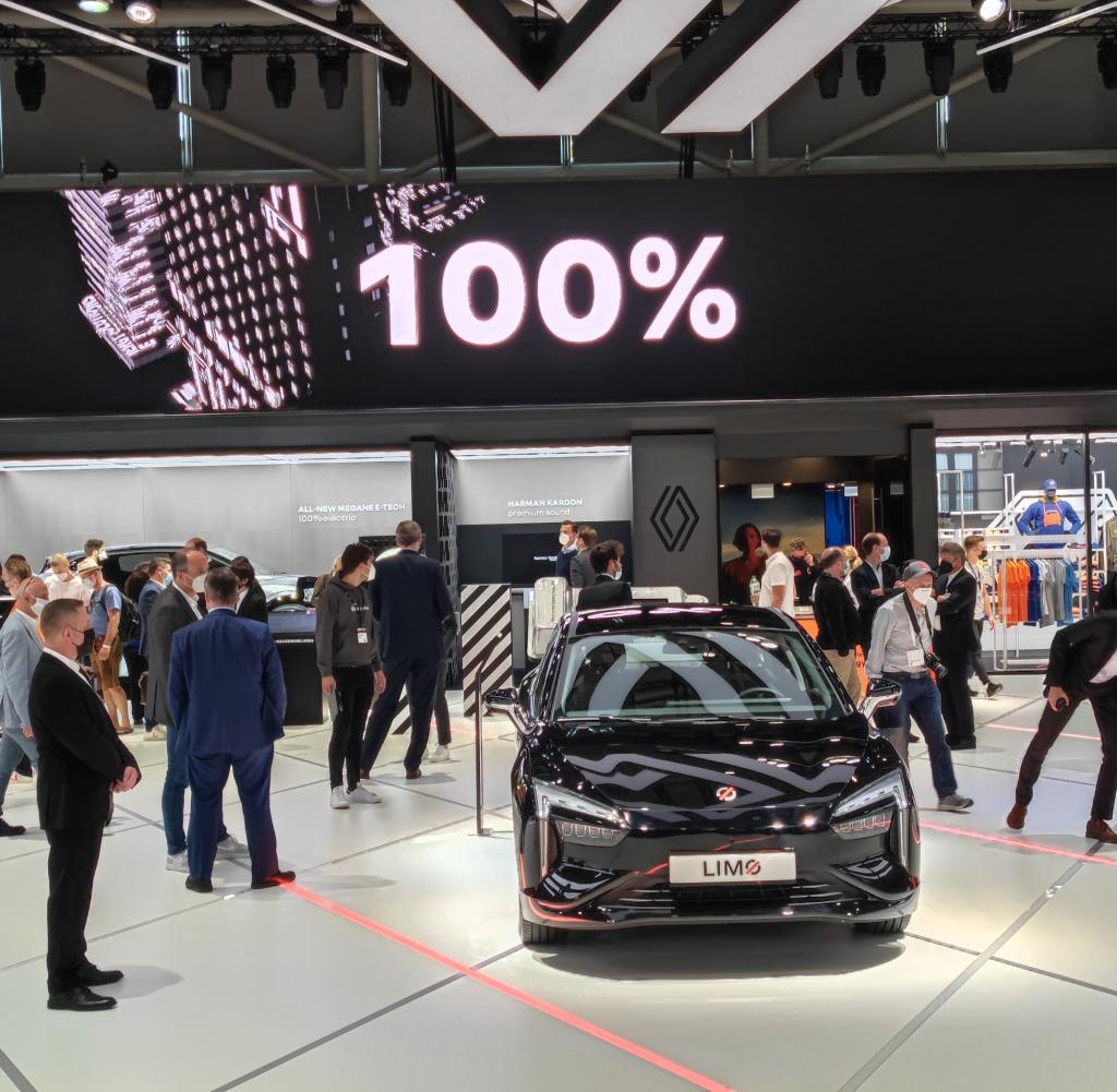 Renault offers fleet mobilization at IAA - share or rent