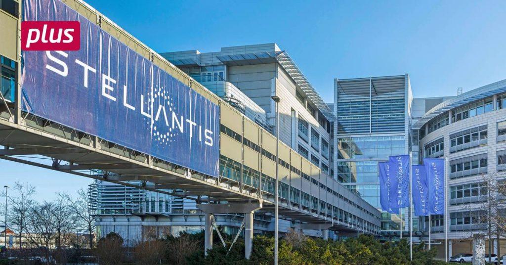 Stellantis transforms Opel . factory buildings