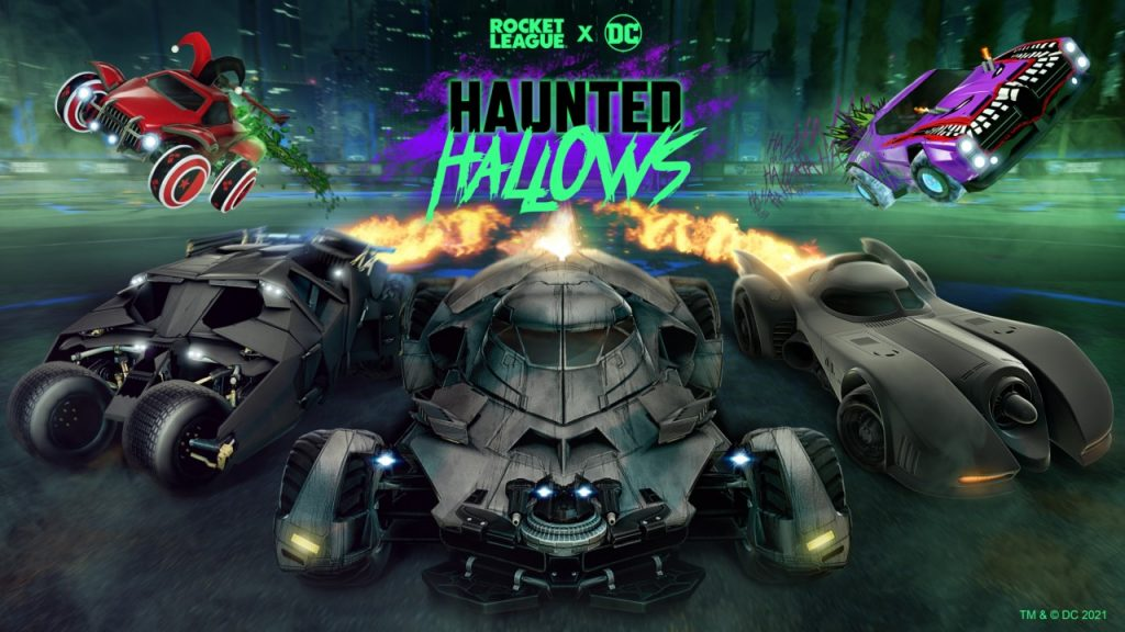 Batman returns in Haunted Hallows