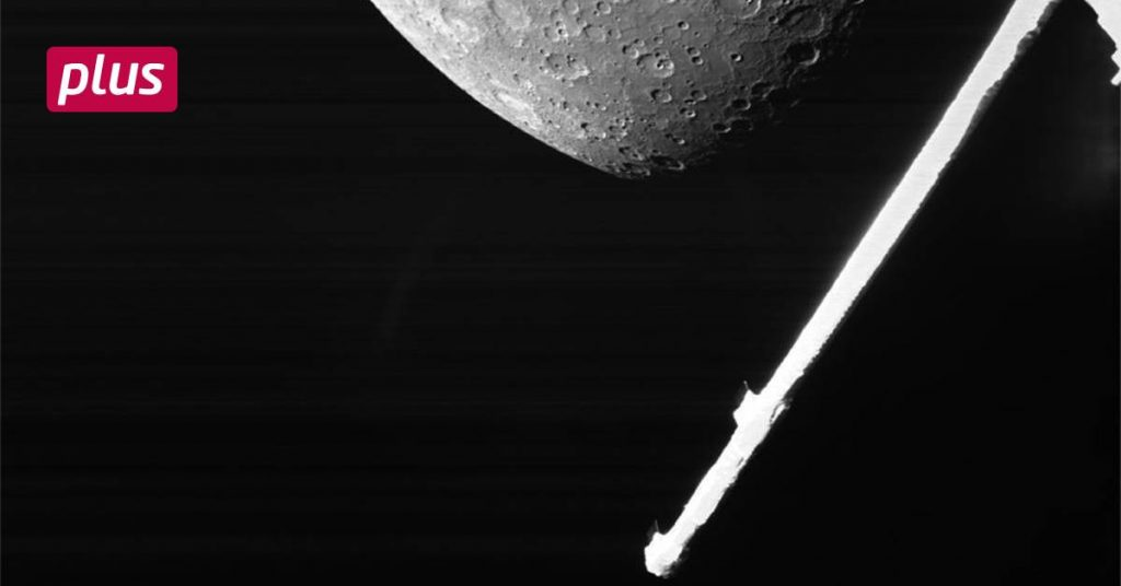 Controlled from Darmstadt: A space probe arrives at Mercury