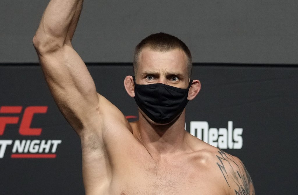 Nerves until the end!  Christoph Jodko with valuable success at UFC