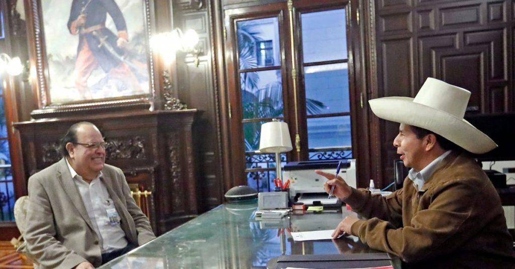 Pedro Castillo has endorsed Julio Velardi as President of the BCR