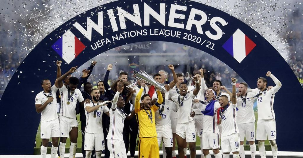 World Nations Association.  France is better than Spain in the final